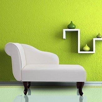 Cloud Mountain Chaise Lounge Ocio Tumbona Banco Sofá Sofá Muebles de sala de estar con brazo, blanco