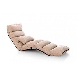 E-joy Sofá relajante Sofá Bean Bag Sofá plegable, futón y lounge