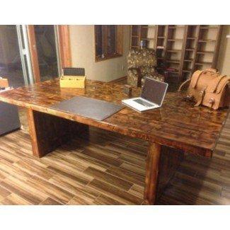 Recuperado Escritorios de madera de la oficina en casa | Thi reciclado ngs