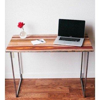 Escritorio de computadora de madera recuperado | Muebles para el hogar | Carlino ...