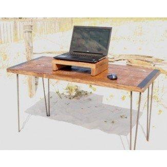 Escritorio para computadora Escritorio de madera reciclada Escritorio de oficina Mesa rústica