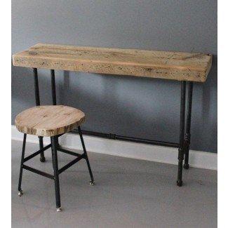 Pequeño escritorio urbano para computadora portátil - Reclaimed Wood & Pipe
