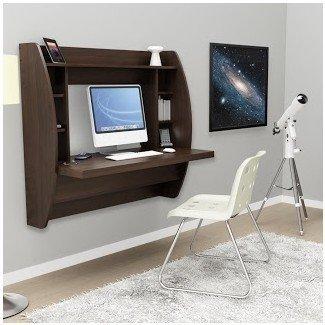Escritorio montado en la pared: escritorio para computadora montado en la pared