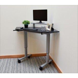 Dormitorio Reloj de escritorio pequeño Escritorio de computadora de vidrio pequeño ...