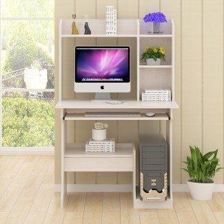 Dormitorio moderno computadora pequeña Mesa de escritorio PC para el hogar ...