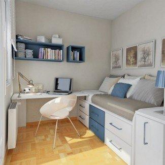 55 pensativos diseños de dormitorio para adolescentes - DigsDigs