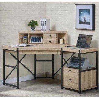 El mejor escritorio de esquina de más de 25 años con ideas de conejeras en Pinterest |