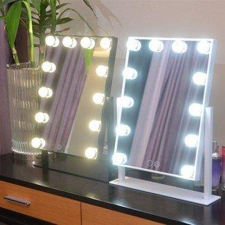 Hollywood Led Mirror -Vanity Mirror con bombillas ...