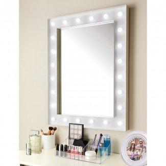 Hollywood 24 LED Bombilla Espejo | Espejos decorativos