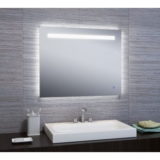 Espejo de baño / tocador Naia LED