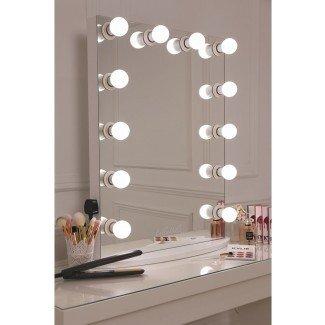 Bombillas LED LULLABELLZ Hollywood Glow Vanity Mirror. Esto es ...