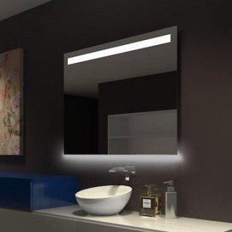 Espejo de tocador / de tocador LED regulable clásico