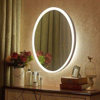 Los 10 mejores espejos de tocador iluminados con LED en 2017 ...