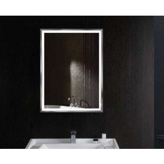 Espejo de tocador con luz LED para baño Costa