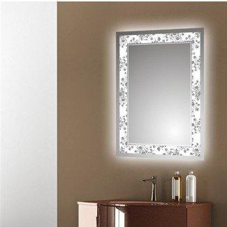 Espejo de vanidad de luz variable LED, Vanidad de luz variable de LED ...