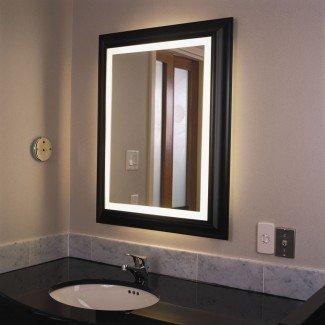 Luces de pared: maravillosas luces de espejo de baño de diseño 2017 ...