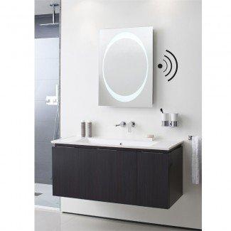 Los espejos con iluminación LED, los espejos de pared para baño con luz LED son la mejor iluminación ...