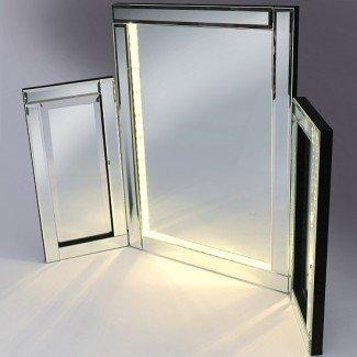 Espejo de vanidad de Venezuela con luces LED 23890 Muebles en