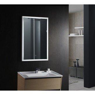 Espejo de baño LED con espejo de vanidad Fiori