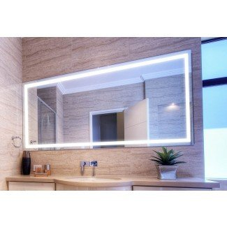 Espejo con luz de baño Verge - Vanity, LED, de Clearlight ...