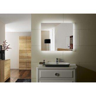 Espejo de tocador de baño con luz LED IV de Praga IV