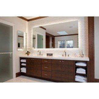 Ideas contemporáneas de decoración de baño LED 2017 - baño led ...