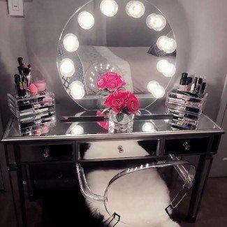 Beauty Of Makeup Tocador con luces |