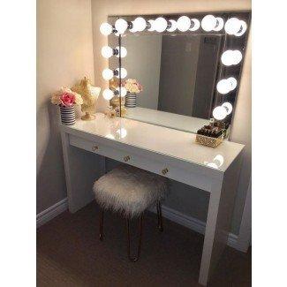 Las 25+ mejores ideas de tocador Mirror en Pinterest | Maquillaje diy ...