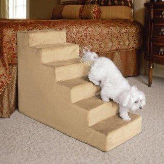 Escaleras para perros para peldaños altos   Foto de razas de perros