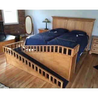 Escaleras para perros con cama alta pequeña: información previa a la construcción