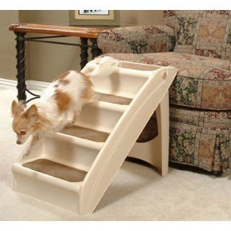Escaleras para perros y gatos Escaleras para escaleras PupStep Pup Steps Escalera con escalera