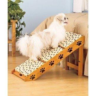 Pasos para perros para ideas de camas altas   Escaleras para perros para