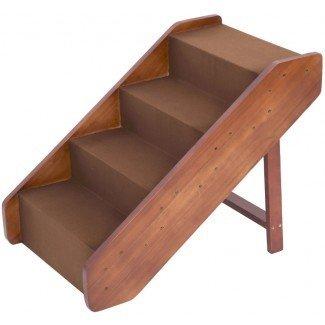 """Escalera grande para escaleras de madera para mascotas Rampa para perros Cama alta de 20 """""""