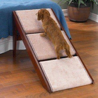 Escalera convertible para mascotas de 3 escalones