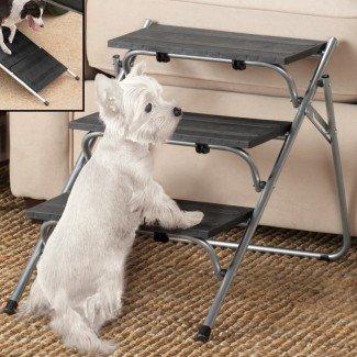 Escaleras plegables para mascotas de 3 escalones