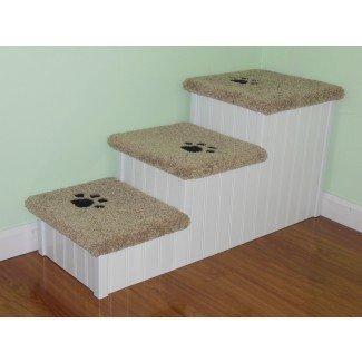 Escaleras para perros grandes hechas a mano extra anchas y largas