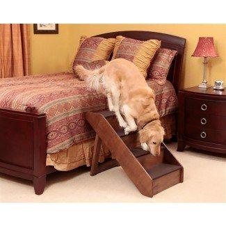 Pasos para perros para camas altas y automóviles  