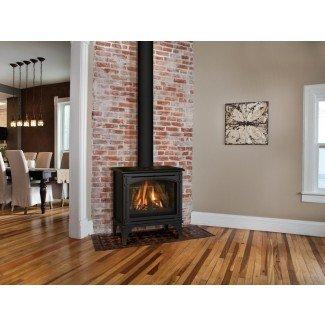 Chimenea de gas independiente - Diseño de interiores