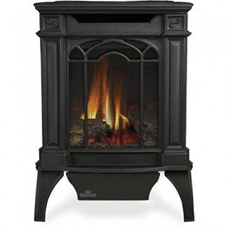 Estufa de gas natural de hierro fundido Napoleon Gvfs20 Arlington - Negro