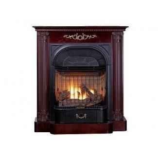 Chimenea de gas sin ventilación Cherry de Buckingham :: Factory Direct ...