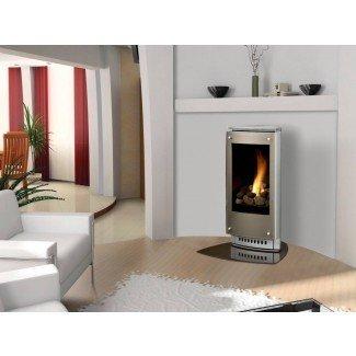 Proceso de instalación en el hogar de la chimenea de gas autónoma ...