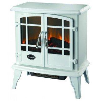 La estufa eléctrica Keystone en blanco - Estufas independientes ...
