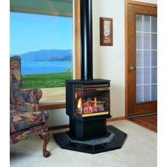 Chimenea de gas independiente sin ventilación. Fireplace Tv Stand ...