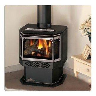 Chimeneas de gas natural sin ventilación RiteTemp independientes en ...