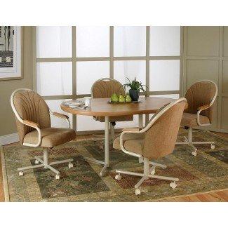 sillas de comedor con ruedas | Home Design Ideas