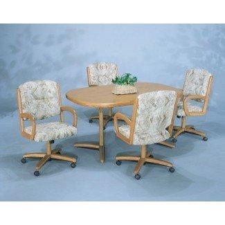 Cocina. Asombrosas sillas de cocina con ruedas Ideas ...