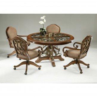 Juego de mesa de comedor Pastel Furniture Carmel de 5 piezas con ...