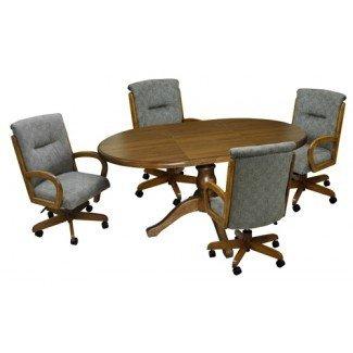 Tobias Designs - 42x42x60 Comedor con 265 sillas con ruedas