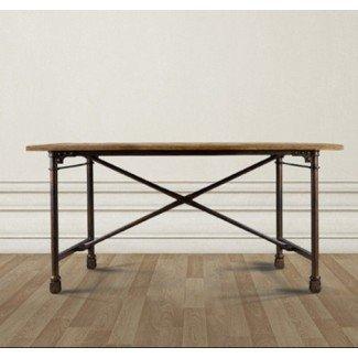 Mesa de comedor: ruedas de metal para mesa de comedor