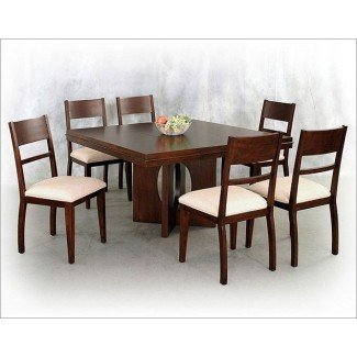 19 Mesa de comedor cuadrada: simple pero sofisticada ...